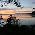 Lokakuu: Auringonlasku Kuva: Esko Toikkanen