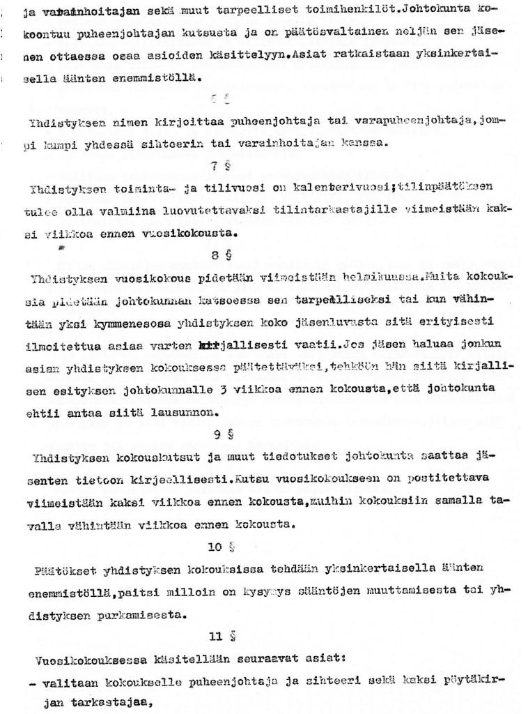 Kameraseuran säännöt sivu 2